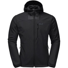Jack Wolfskin Sky Point Hoody Men, black